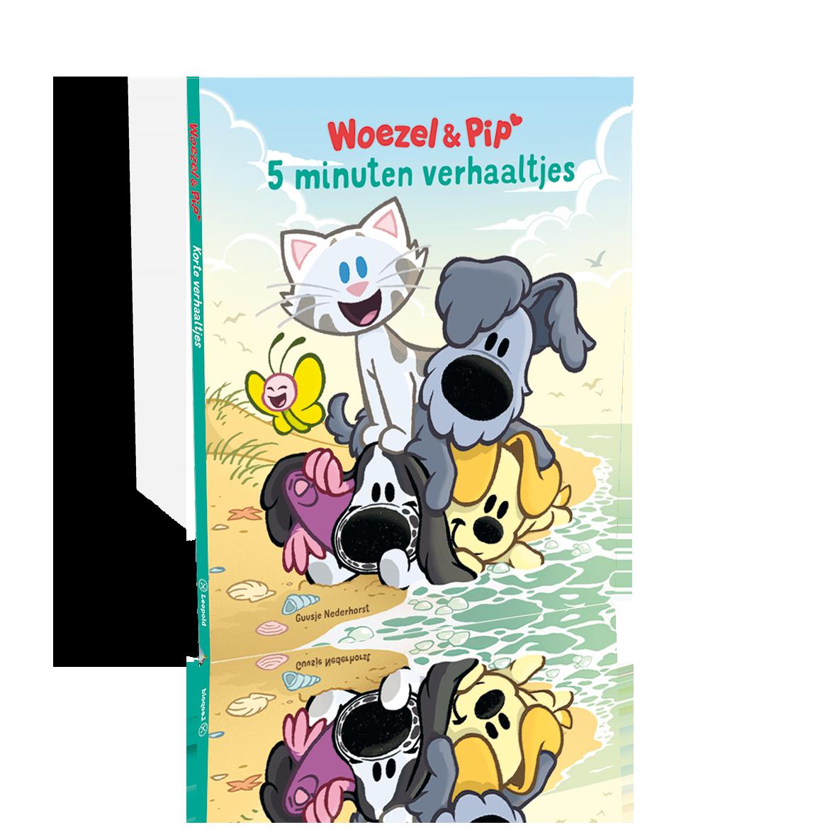 Wonderlijk Woezel & Pip - De 5 leukste boeken voor op vakantie! BU-95