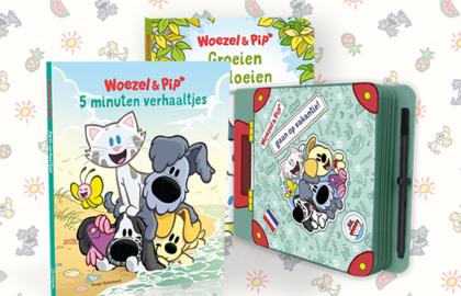 Woezel & Pip zomervakantie boeken
