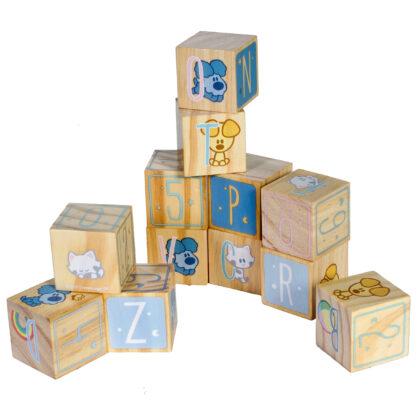Woezel & Pip Baby houten blokken
