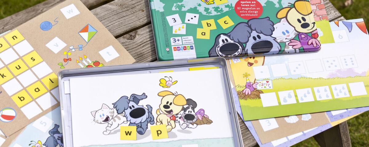 Zwijsen educatieve spellen Woezel & Pip